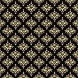 Damast-nahtloses Muster Stockfotografie