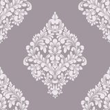 Damast sömlös modellbeståndsdel för vektor Klassisk lyxig gammalmodig damast prydnad, sömlös textur för kunglig victorian Royaltyfria Foton
