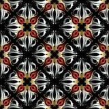 Damast vector naadloos patroon Stock Foto