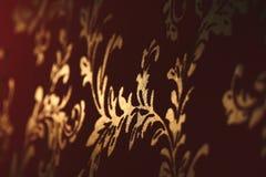 damastast gammala wallpapers royaltyfri illustrationer
