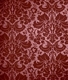 damastast gotisk seamless wallpaper för bakgrund Royaltyfri Fotografi