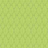 damastast grön seamless tappningwallpaper vektor illustrationer