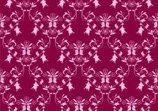 damastast rosa seamless för bakgrund Arkivbild