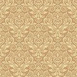 Damastast seamless silk Royaltyfri Fotografi