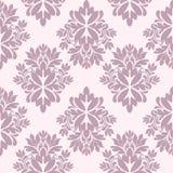 damastast seamless wallpaper Royaltyfri Bild