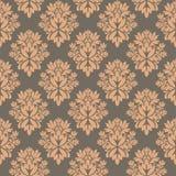 damastast seamless wallpaper Royaltyfria Foton