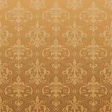 damastast seamless wallpaper Royaltyfri Foto