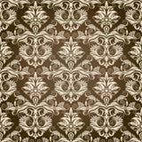 damastast seamless wallpaper Arkivfoto
