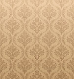damastast seamless wallpaper Royaltyfria Bilder