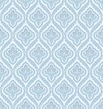 damastast seamless wallpaper Arkivbilder