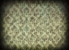 damastast tappningwallpaper Royaltyfri Fotografi