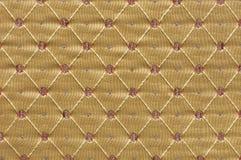Damastast textil Arkivfoto