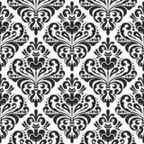 damastast wallpaper royaltyfri illustrationer