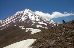 Damavand from north west side royalty free stock photos