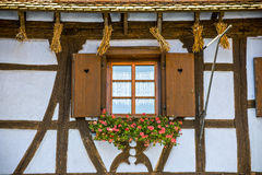 Dambach (Alsace) - House Royalty Free Stock Image