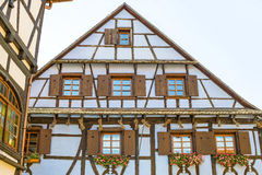 Dambach (Alsace) - House Stock Photos