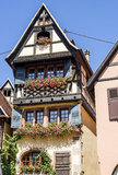 Dambach-la-Ville (Alsace) - House Royalty Free Stock Image