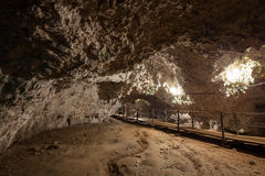 Dambovicioara Cave Royalty Free Stock Photos