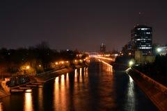 Dambovita flod Royaltyfri Bild