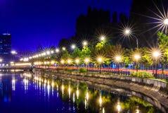 Dambovita flod Royaltyfri Foto