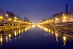Dambovita river, Bucharest Stock Photography