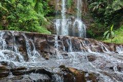 Dambri瀑布-在Lam Dong越南 库存图片