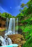 dambri瀑布 库存照片