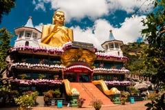 Dambula tempel på Sri Lanka fotografering för bildbyråer