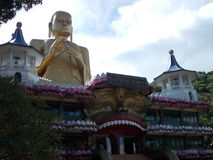 Dambulla寺庙-斯里兰卡 免版税图库摄影