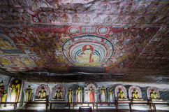 Dambulla,斯里兰卡,亚洲 免版税库存照片
