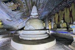 Dambulla洞寺庙-斯里兰卡联合国科教文组织世界遗产名录 库存图片