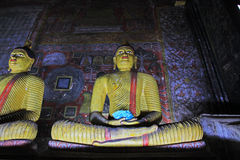 Dambulla洞寺庙-斯里兰卡联合国科教文组织世界遗产名录 图库摄影