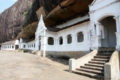Dambulla Cave Sri Lanka. Dambulla Cave entrance Sri Lanka Royalty Free Stock Photos