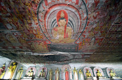 Dambulla Cave Temple Stock Images