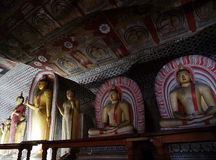 Dambulla cave temple Stock Photography
