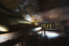 Dambulla cave temple Royalty Free Stock Photos
