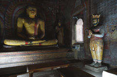 Dambulla cave temple Royalty Free Stock Photography