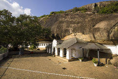 Dambulla cave temple. In Matale district, Srilanka Royalty Free Stock Photo