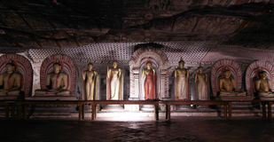 Dambulla - Cave temple - Sri Lanka Royalty Free Stock Photos