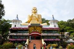 Dambulla Cave Temple - Sri Lanka. Dambulla Cave Temple in Sri Lanka royalty free stock photography