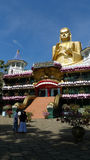 Dambulla cave temple in Sri Lanka Royalty Free Stock Photography