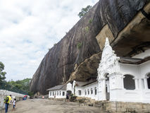 Dambulla golden temple Sri Lanka royalty free stock photo