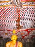 Dambulla, Sri Lanka - April 30, 2009: De tempel van het boeddhisten` hol Royalty-vrije Stock Afbeelding