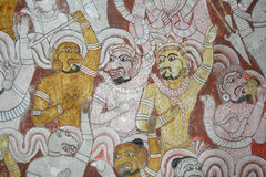 Dambulla-Tempel Lizenzfreies Stockfoto