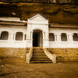 Dambulla temple  in Sri Lanka Royalty Free Stock Image