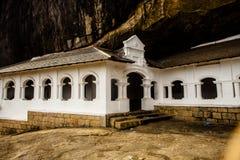 Dambulla temple  in Sri Lanka Stock Images