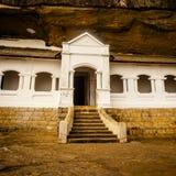 Dambullatempel in Sri Lanka royalty-vrije stock afbeelding