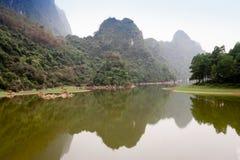 Damda谷, Hoabinh,越南 库存照片