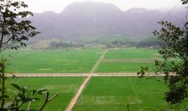 Damda谷, Hoabinh,越南 库存图片