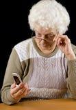 Dame âgée Photos libres de droits